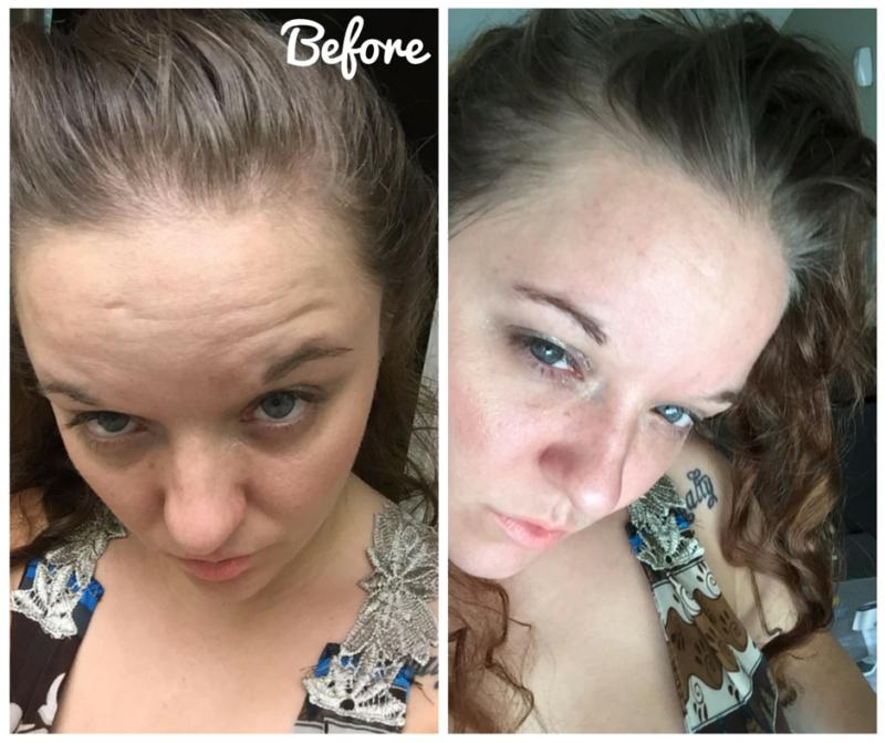 Saving Grace Hair Powder - #BBlogger BEFORE