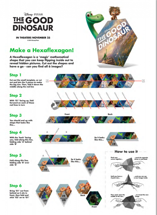 The Good Dino Jexagon