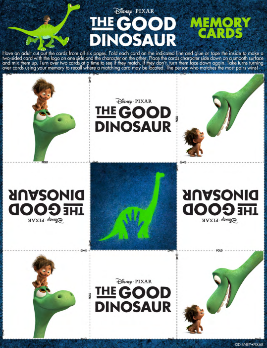 The Good Dino Memory Cards