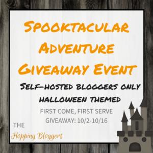 Spooktacular Adventure Giveaway Event - Sign Ups