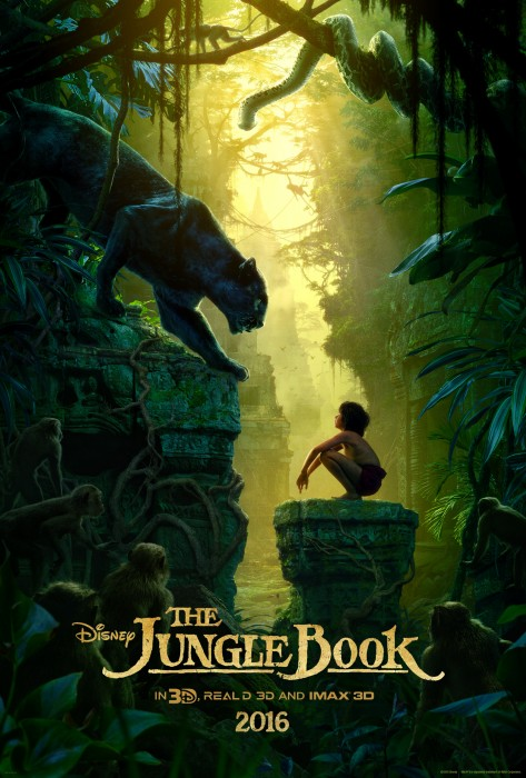 THE JUNGLE BOOK ? WILD WORLD ? Man-cub Mowgli (voice of Neel Sethi), who's been raised by a family of wolves, embarks on a journey of self-discovery, guided by a panther-turned-mentor Bagheera. Directed by Jon Favreau (?Iron Man?), based on Rudyard Kipling?s timeless stories and featuring state-of the-art technology that immerses audiences in the lush world like never before, Disney?s ?The Jungle Book? hits theaters in stunning 3D and IMAX 3D on April 15, 2016. ?2015 Disney Enterprises, Inc. All Rights Reserved.