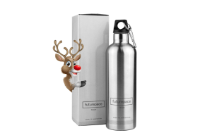 20oz Bottle – Brushed Stainless Steel
