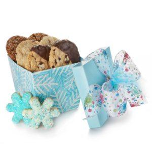 BLue Snowflakes Gourmet Cookies