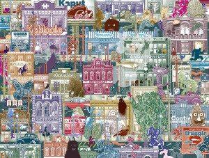 Bad Neighborhood Jigsaw Puzzle