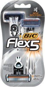 Bic Flex 5 Razors