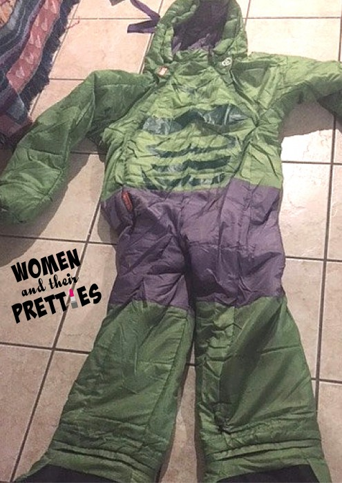 Celebrate Halloween and Sleepovers with Selk'bag - Marvel Collection - Hulk Costume