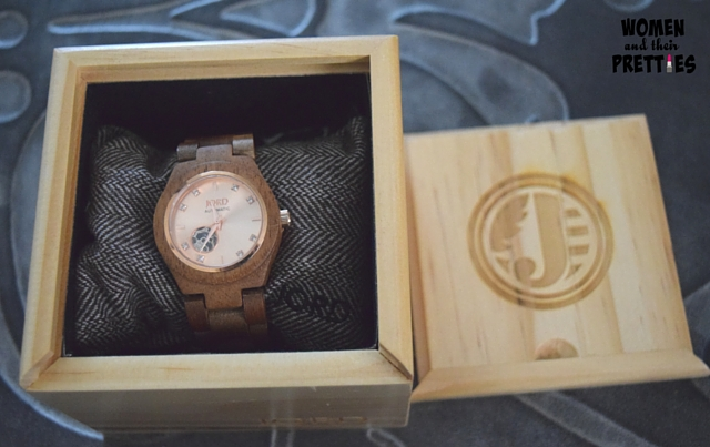 Fashionable, Handcrafted Wood Watches from JORD #JordWatch