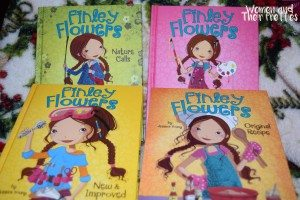 Finley Flowers Books for Girls