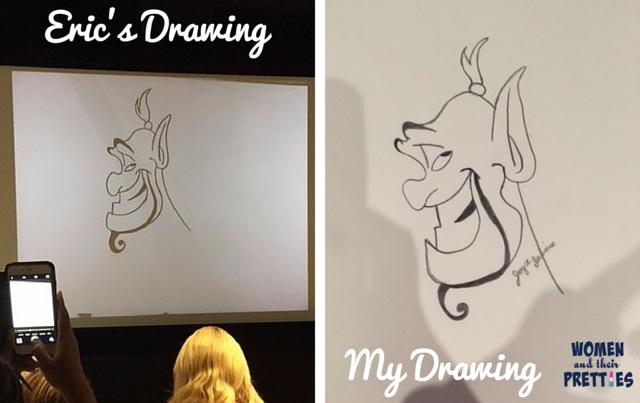 Genie Animator, Eric Goldberg, Talks Robin Williams & Bringing Genie To Life #AladdinBloggers (6)