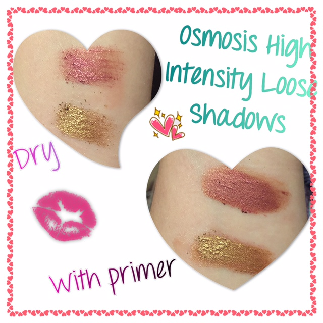 Osmosis Colour High Intensity Loose Eyeshadows