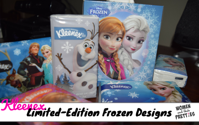 Kleenex Frozen Designs