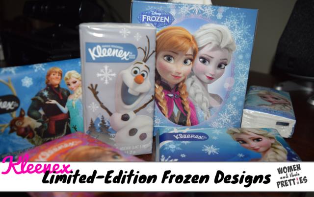 Kleenex Frozen Designs