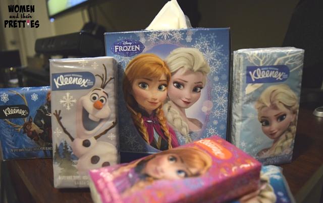 Kleenex - Limited Edition Frozen Designs