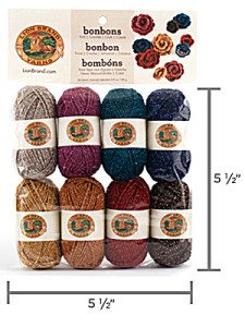 Lion Brands Bonbons yarn