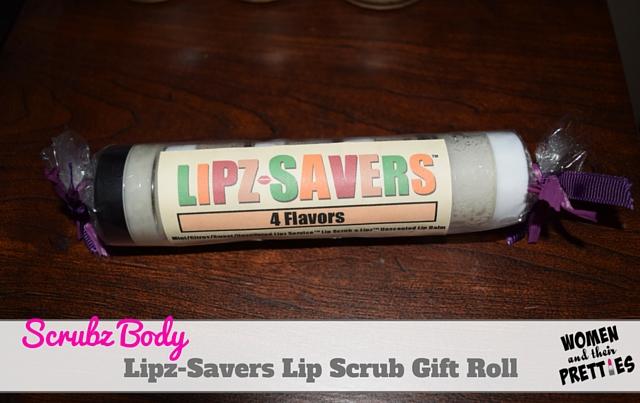 Lipz-Savers Lip Scrub Gift Roll