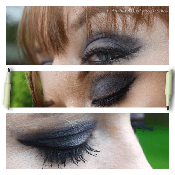 Makeup that Tinkerbell Would Wear - Pixi Beauty Cat Eye Ink eyeliner