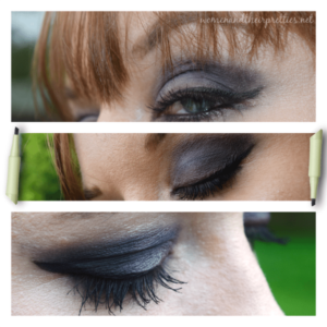 Makeup that Tinkerbell Would Wear - Pixi Beauty Cat Eye Ink eyeliner