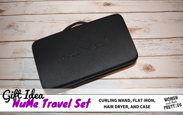 NuMe Travel Set - A Christmas Gift For Beauty Lovers #GiftsForHer