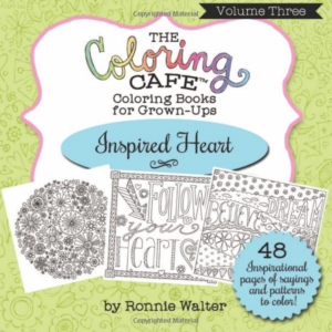 The Coloring Cafe-Volume Three- Inspired Heart