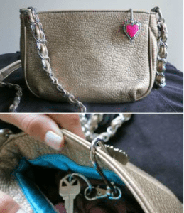 Finders Key Purse Hook