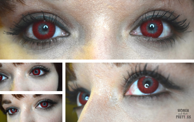 Spooky Eyes - Colored Contact Lenses , Red Contacts (3)