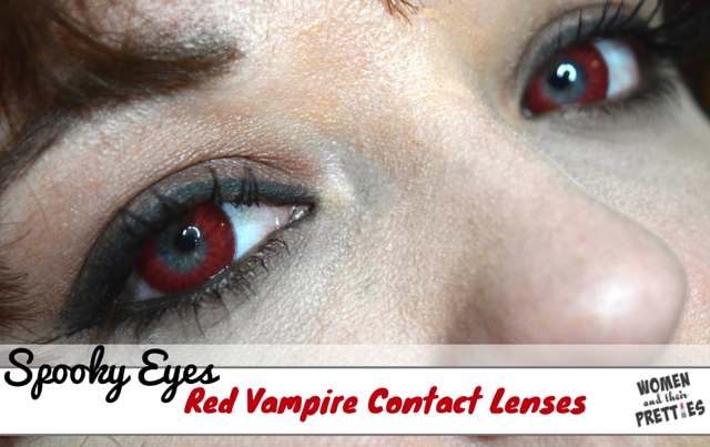 Spooky Eyes - Red Vampire Contact Lenses