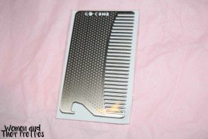 Stainless Steel Bottle Opener Comb