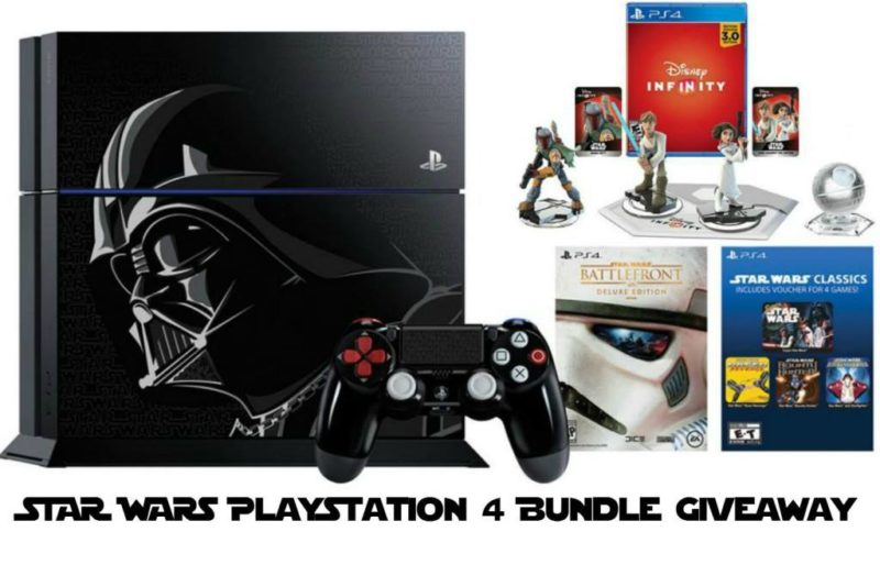 Star Wars Giveaway - Playstation Giveaway