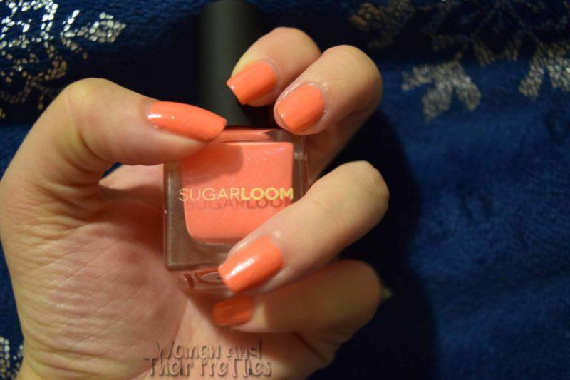 Sugarloom Fall Nail Polish - Sorbet Orange Nail Polish for Fall