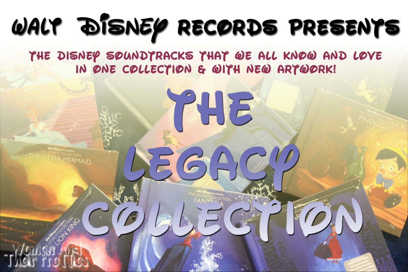 The Legacy Collection 12 Album Disney Box Set - Disney Soundtracks