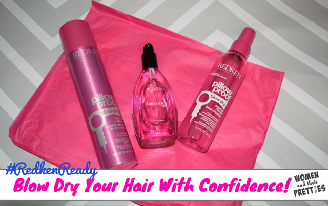 The Redken Blow Dry Collection #RedkenReady