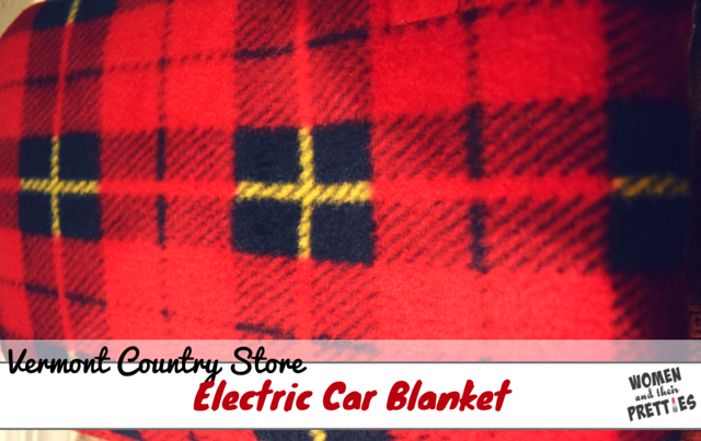 The Vermont Country Store Heated TRAVEL Blanket