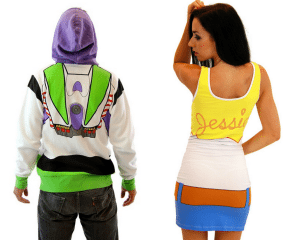 Toy Story Costumes - Couples Costumes for Halloween