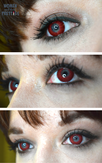 Spooky Eyes - Colored Contact Lenses , Red Contacts