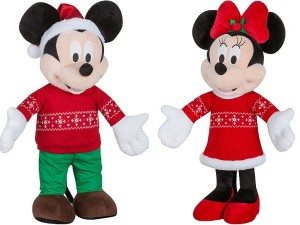 Mickey & Minnie Holiday Greeters