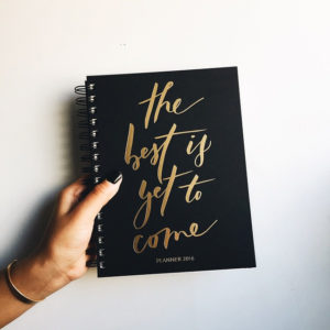 the Best is Yet to Come planner