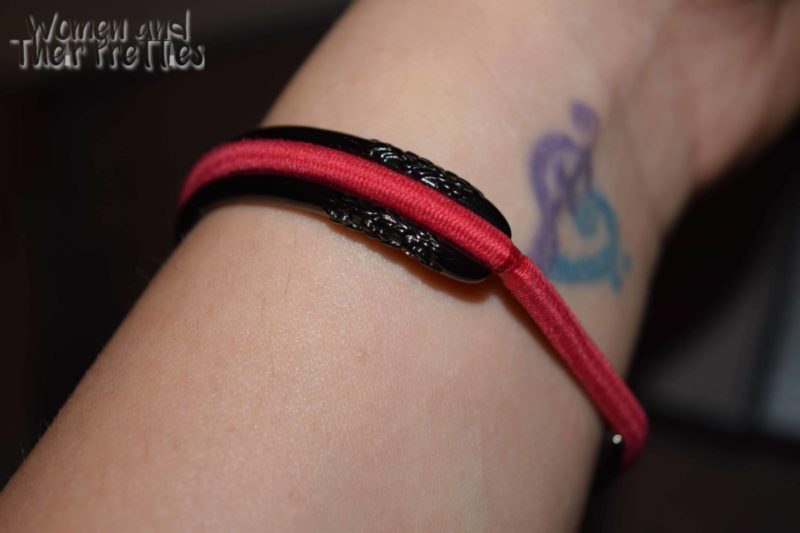 A Stainless Steel Bracelet That Holds Your Hair Tie