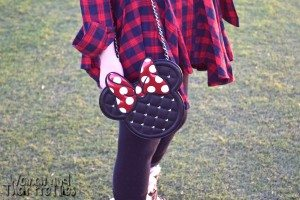 Black & Red Minnie Mouse Bag