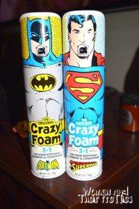 Crazy Foam Superhero Gift Ideas
