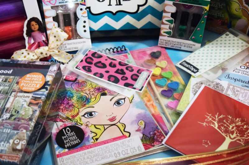 DIY Craft Tween Gift Basket
