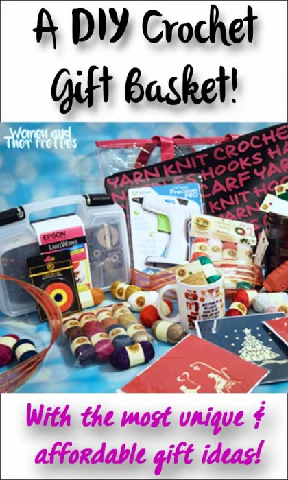 DIY Crochet Gift Basket
