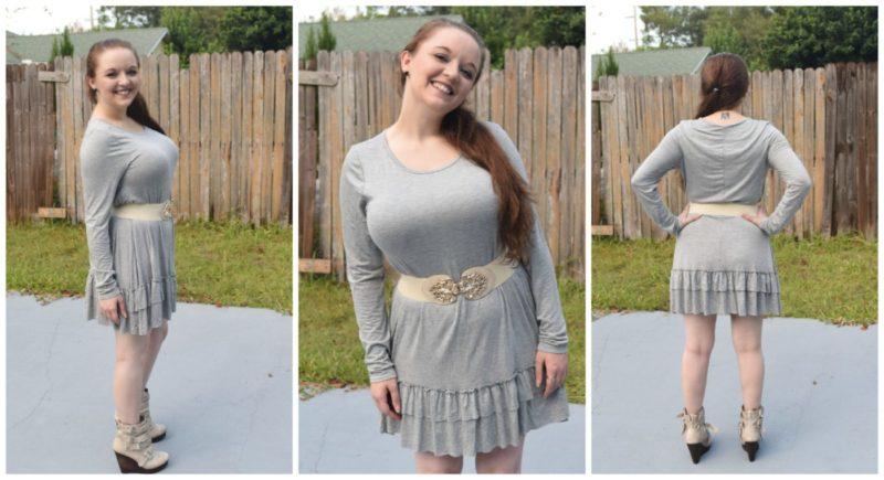 Easel Ruffle Dress - Relish Clothing Mystery Box