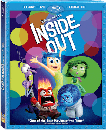 Inside Out Blu-ray Combo Art
