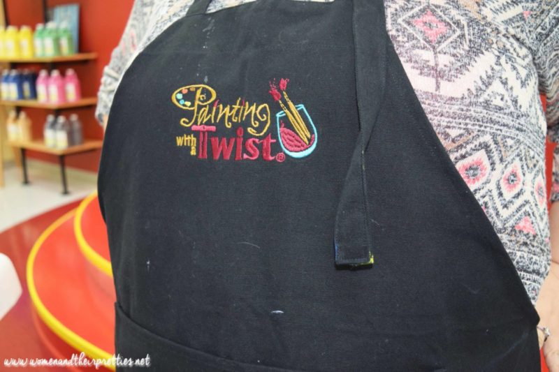 Painting With a Twist Orange City Aprons