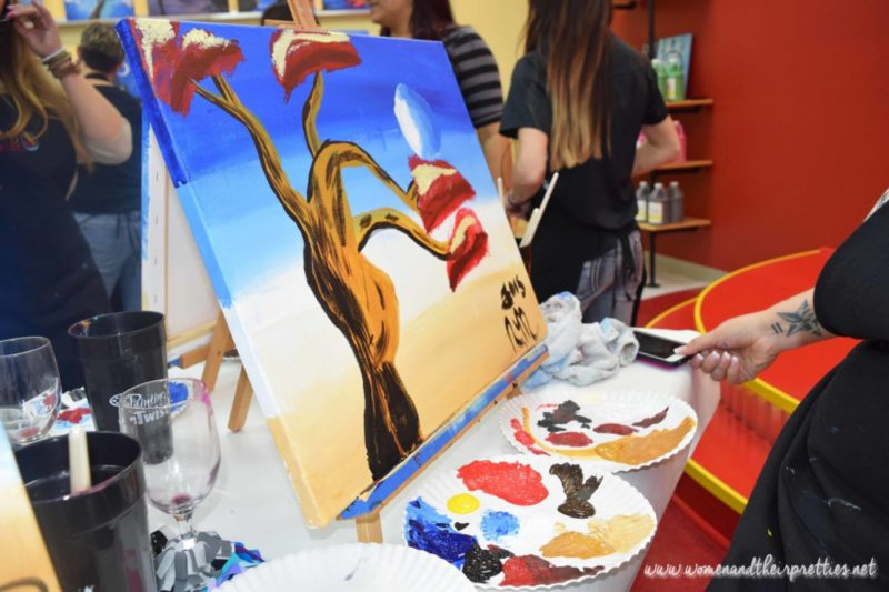 Painting With a Twist Orange City Review