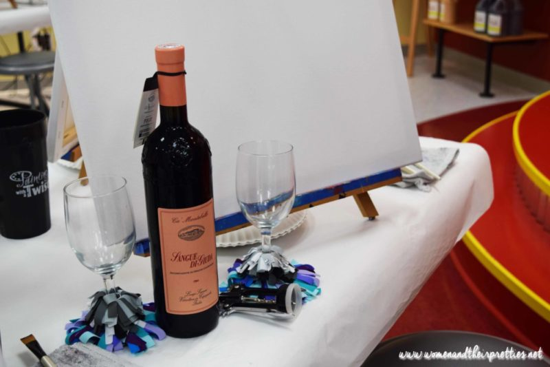 Painting With a Twist Orange City Wine