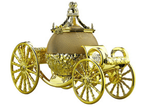 Cinderella's Carriage Bluetooth Speaker