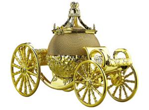 Cinderella's Carriage Bluetooth Speaker