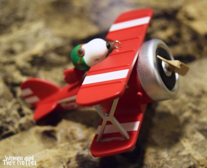 Snoopy Flying Ace Hallmark Ornament