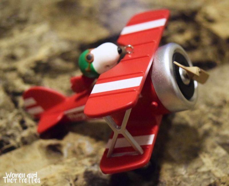 Snoopy Flying Ace Hallmark Ornament